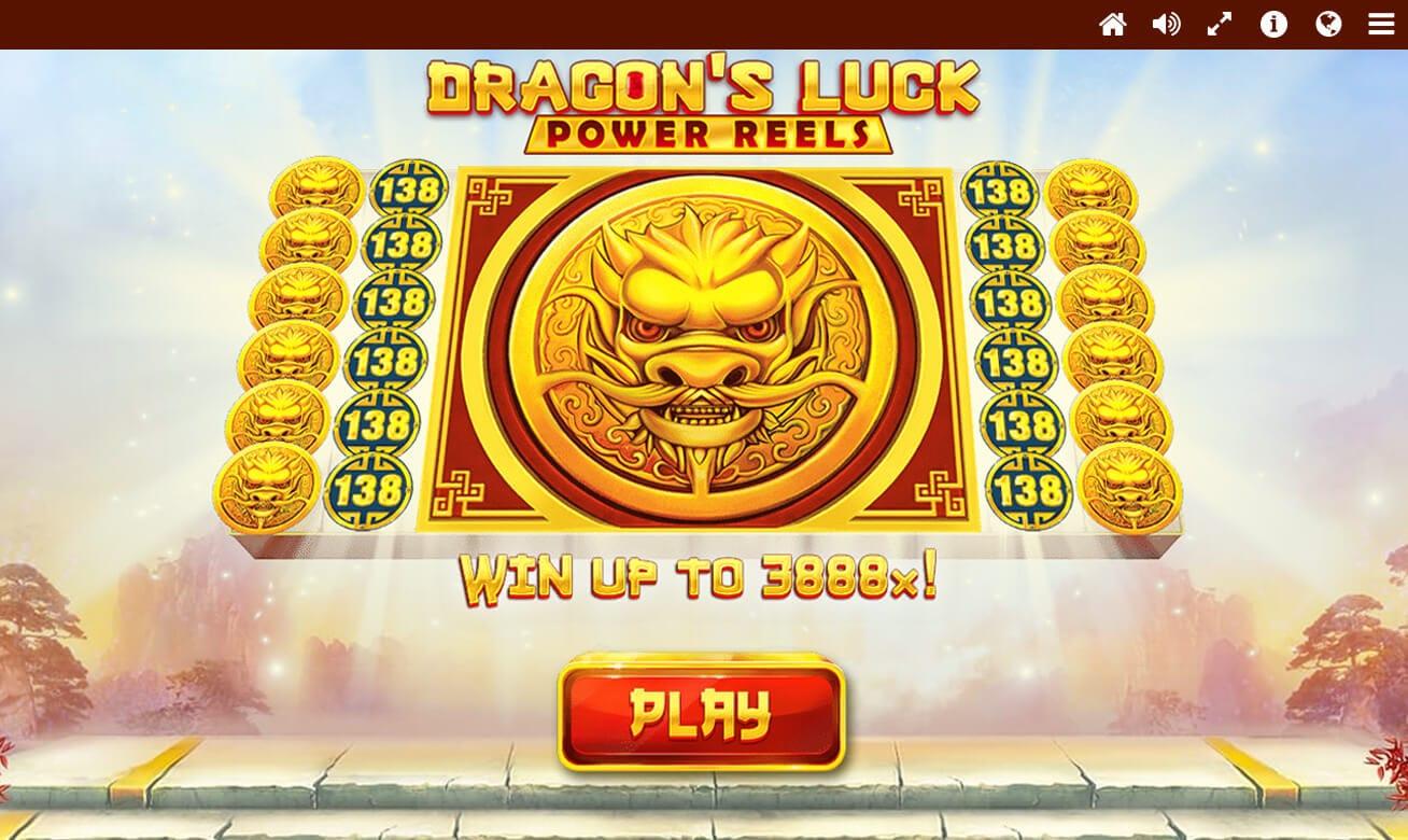 Dragon's Luck Power Reels Slot Bonus