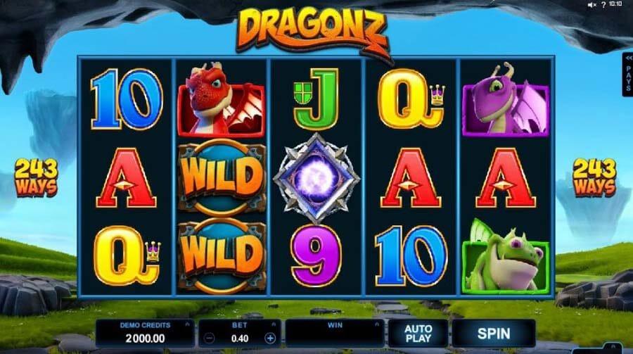 Dragonz Slot Gameplay