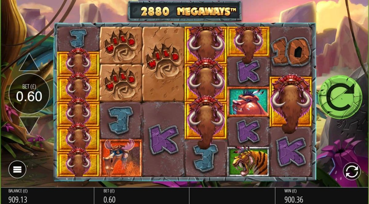 Primal Megaways Gameplay Casino