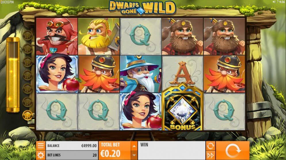 Dwarfs Gone Wild Gameplay