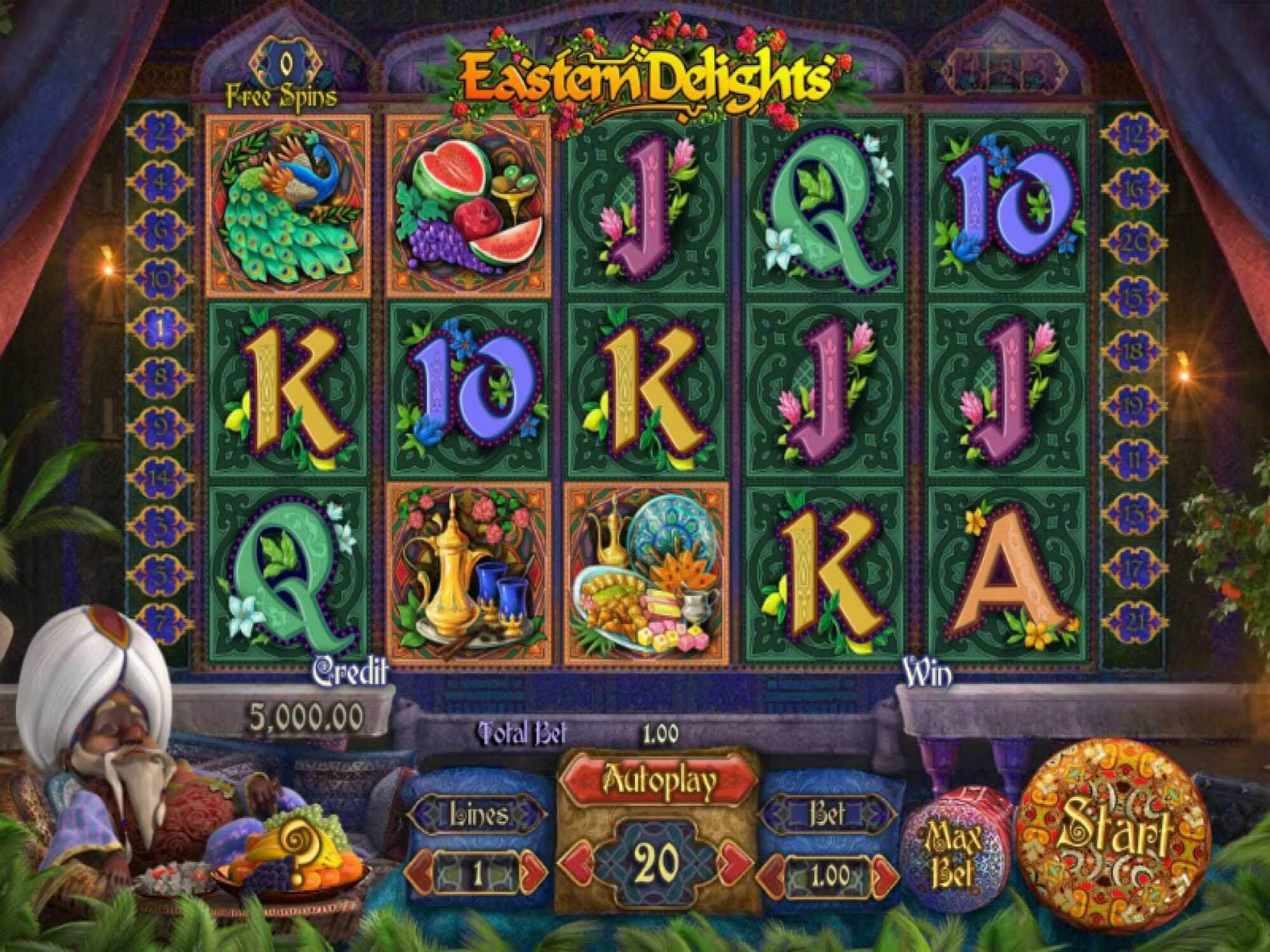 Eastern Delights Slot Gameplay