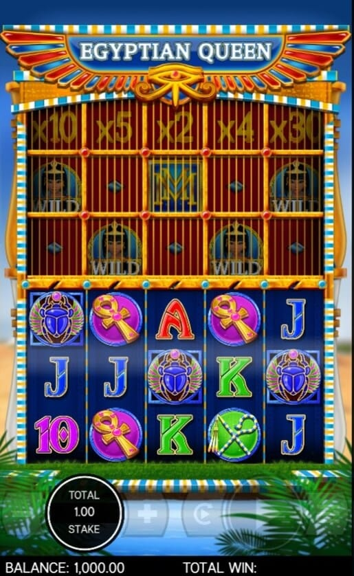 Egyptian Queen Slot Gameplay