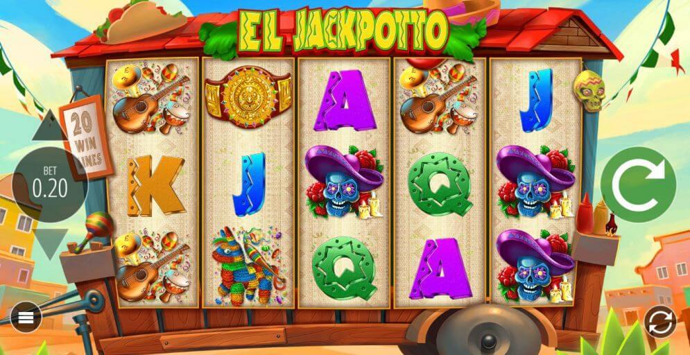 El Jackpotto Slot Gameplay