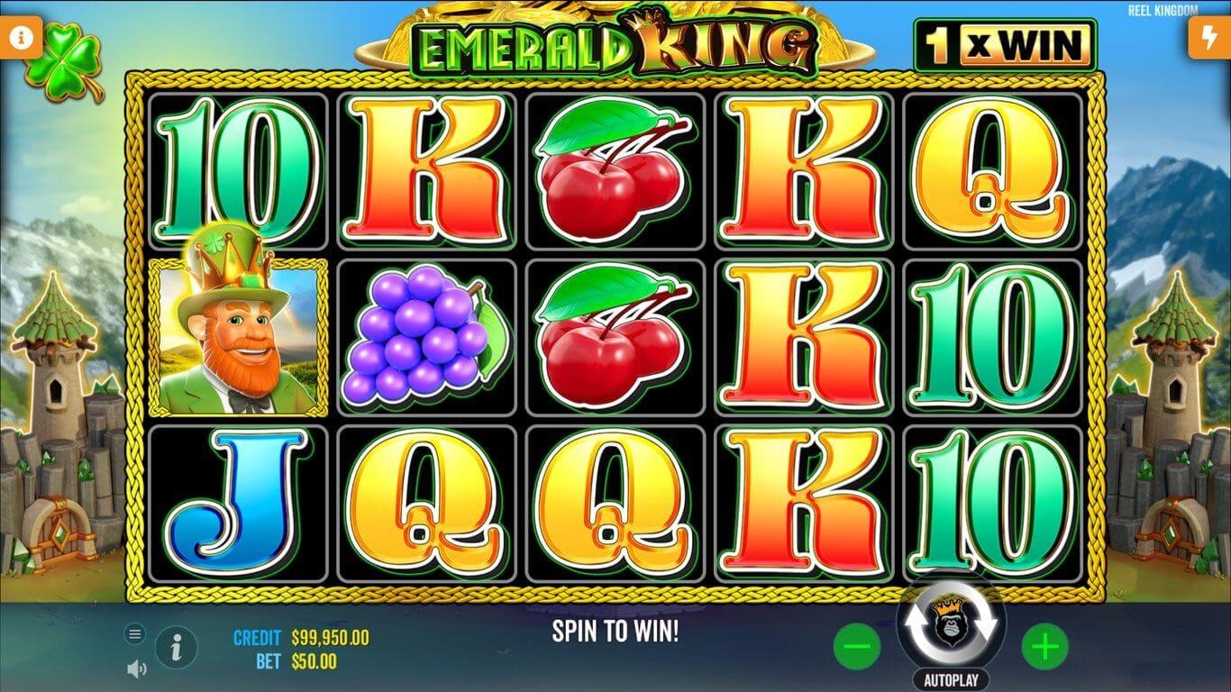 Emerald King Slot Bonus