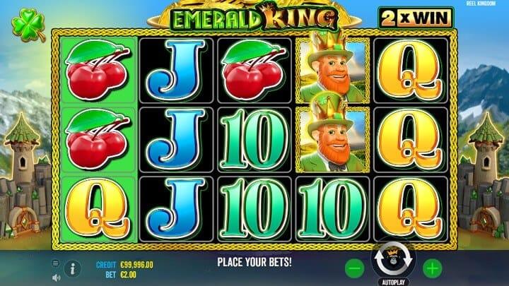 Emerald King Slot Gameplay