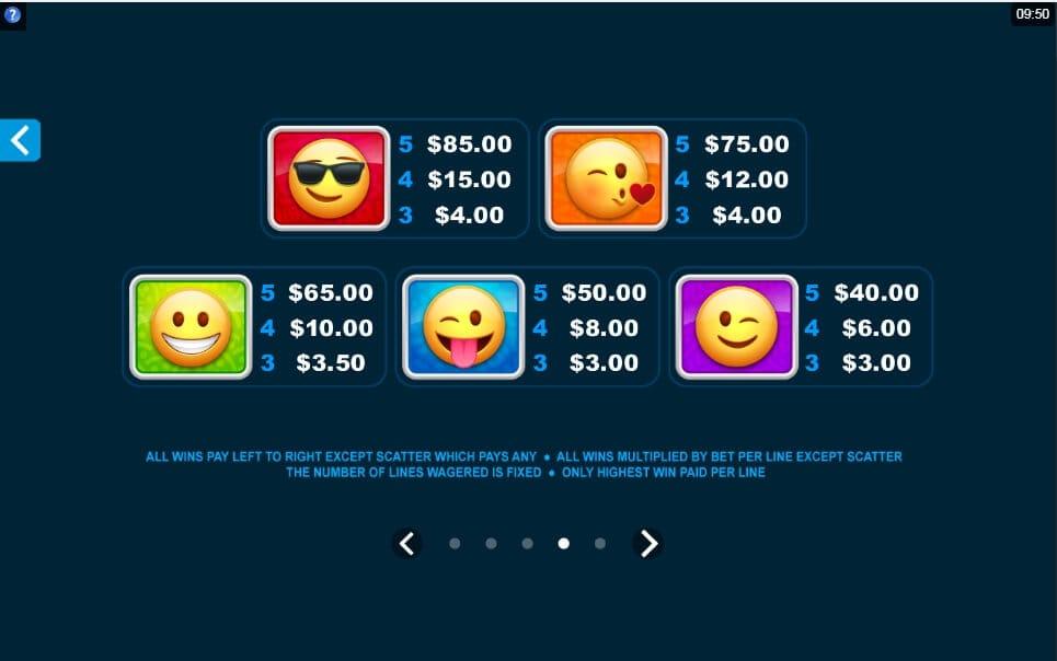Emoticoins Slot Bonus