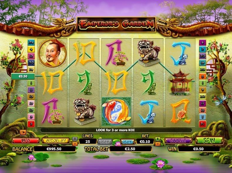 Emperors Garden Slot Gameplay