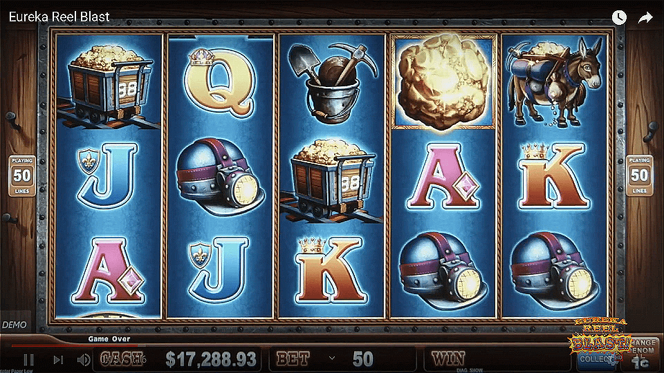 Eureka Reel Blast Slot Gameplay