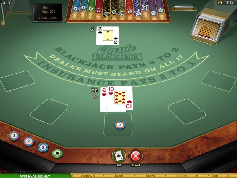 European Blackjack S Bonus