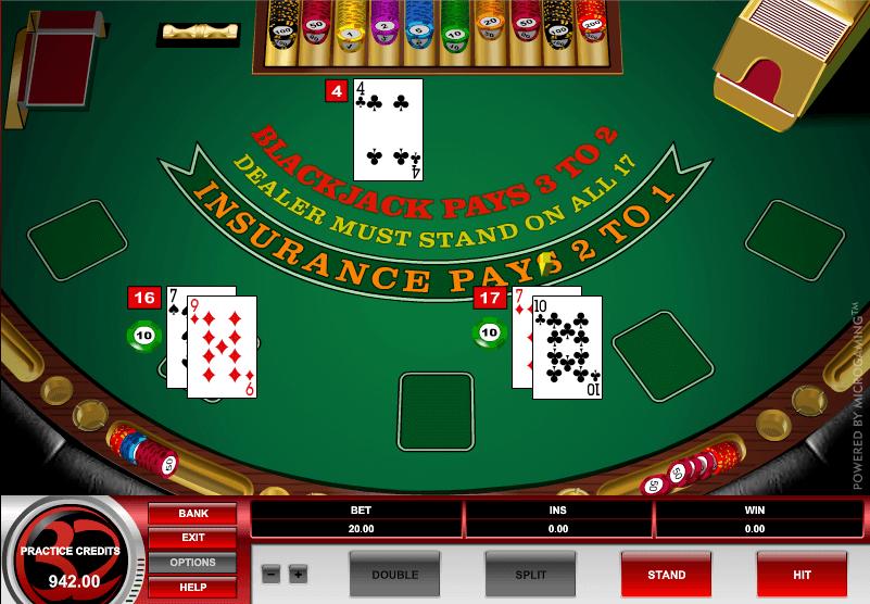 European Blackjack S Gameplay