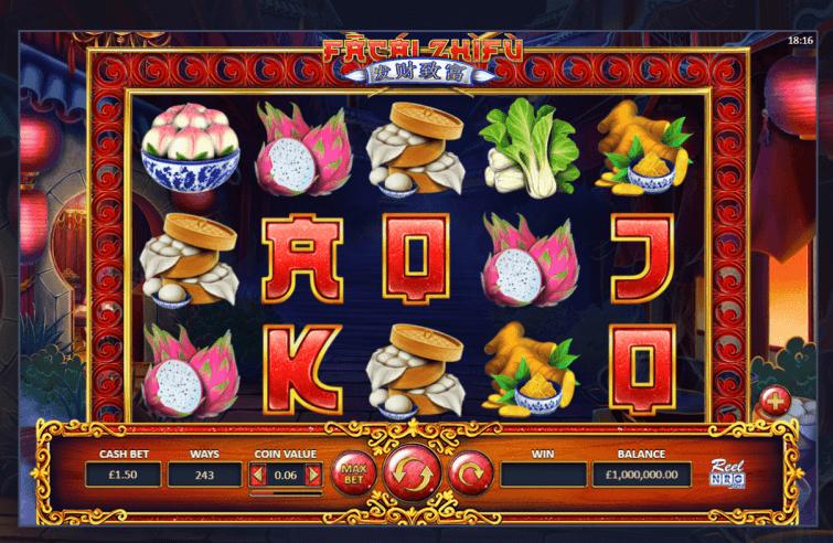 Facai Zhifu Slot Gameplay
