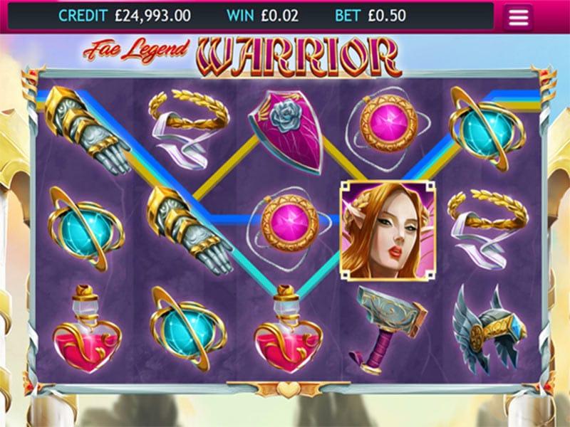 Fae Legend Warrior Slot Bonus