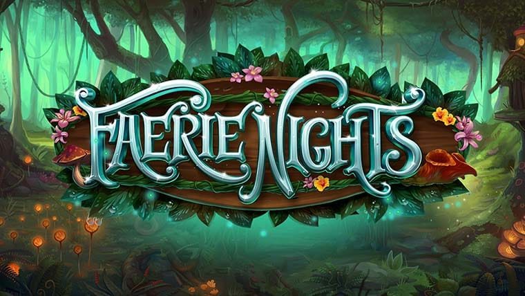 Faerie Nights Slot Logo