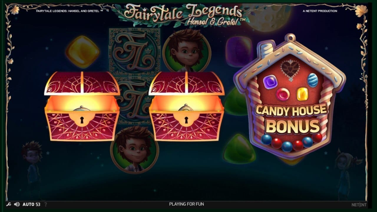 Fairytale Legends Hansel and Gretel Slot Bonus