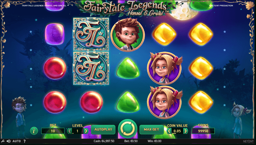 Fairytale Legends Hansel and Gretel Slot Gameplay