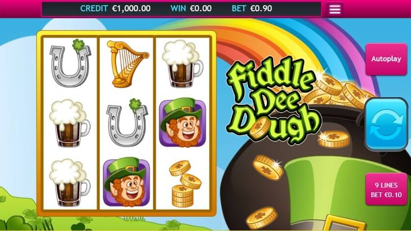 Fiddle Dee Dough Slot Gameplay