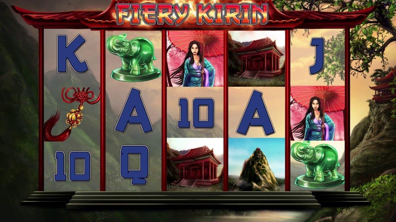 Fiery Kirin Slot Bonus