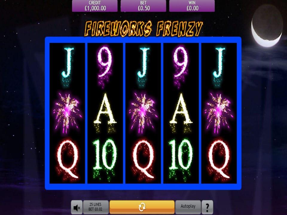 Fireworks Frenzy Slot Gameplay