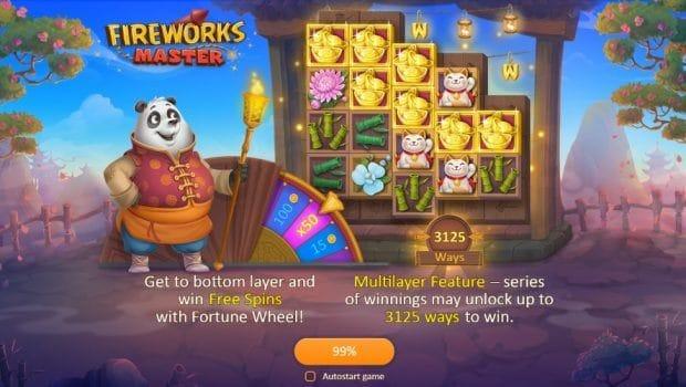 Fireworks Master Slot Bonus