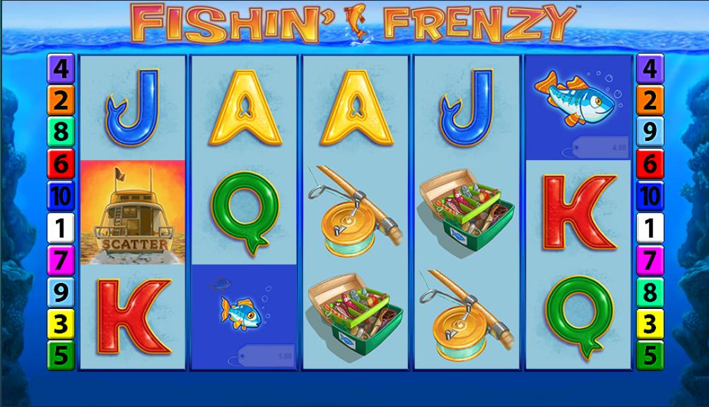 fishin frenzy gameplay