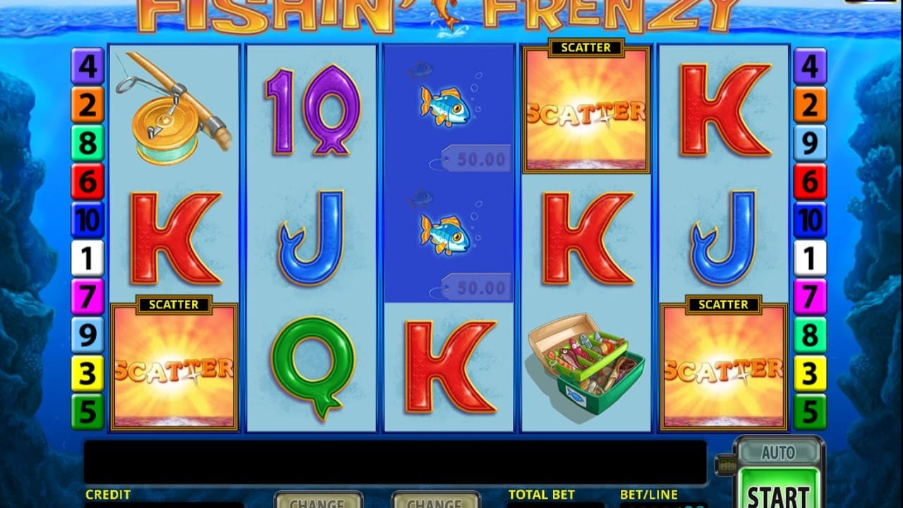fishin frenzy barbados bingo gameplay