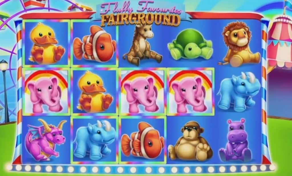 Fluffy Fairgound Slot Gameplay