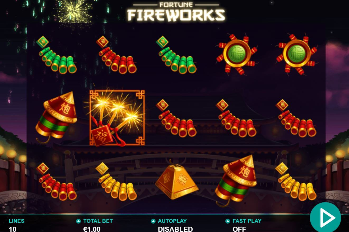 Fortune Fireworks Slot Gameplay