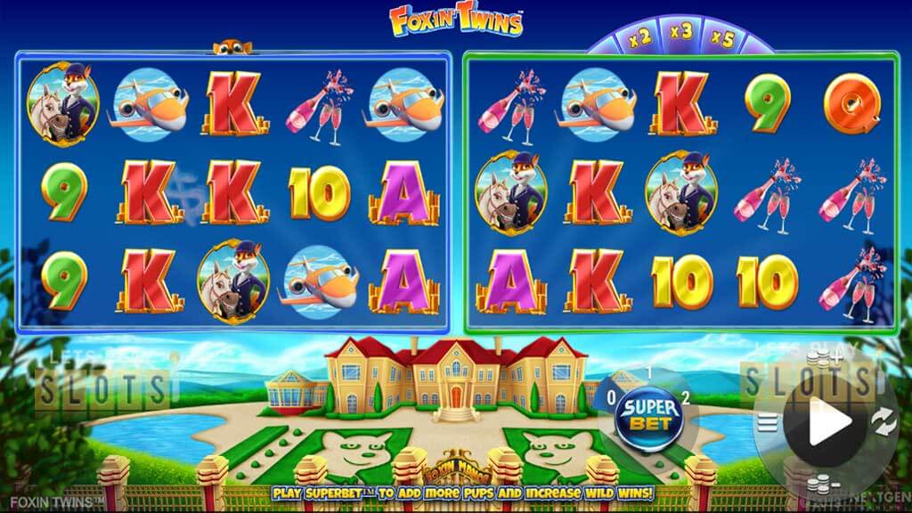 Foxin Twins Slot Gameplay