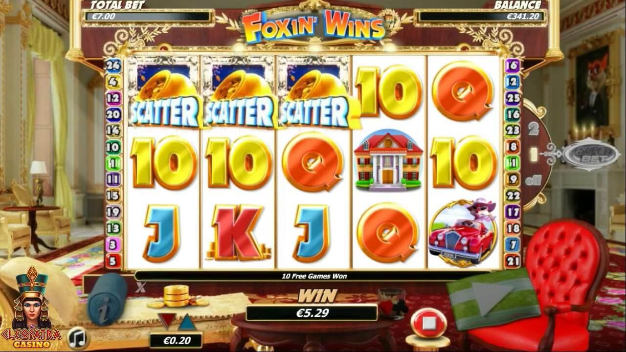 Foxin Wins Slot Bonus
