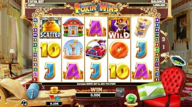 Foxin Wins Slot Gameplay