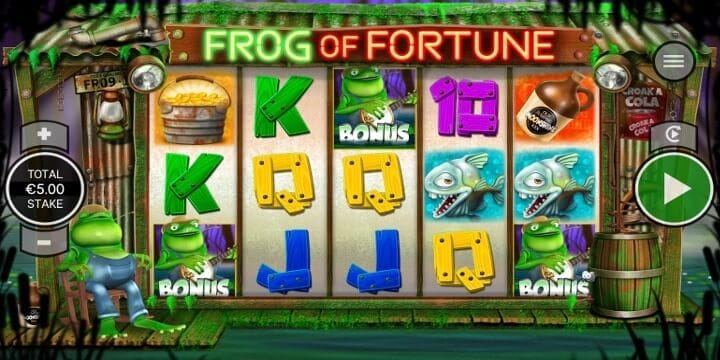 Frog of Fortune Bonus