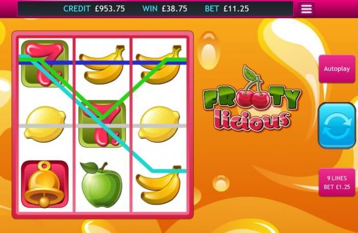 Frooty Licious Slot Bonus