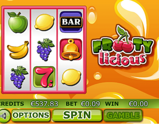 Frooty Licious Slot Gameplay
