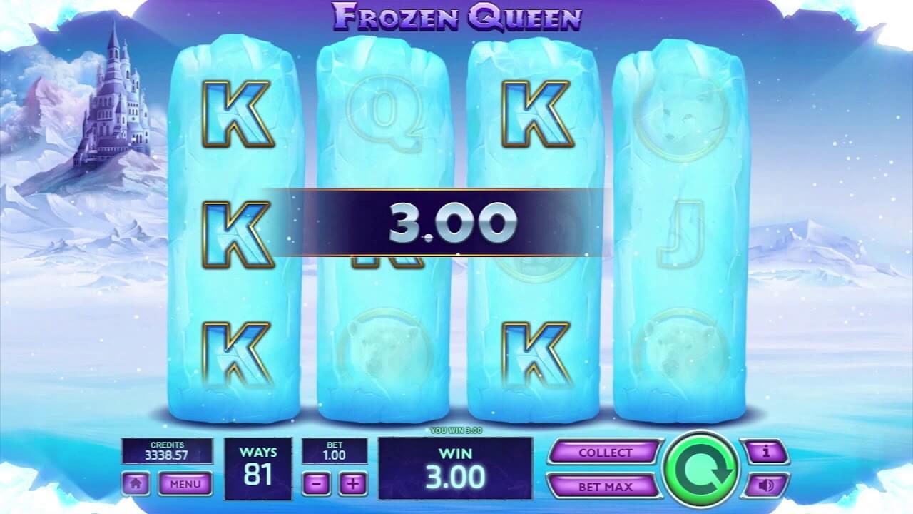 Frozen Queen Slot Bonus