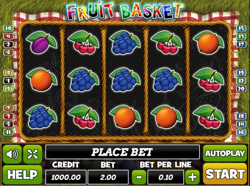 Fruit Basket Slot Bonus