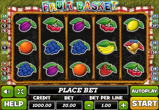 Fruit Basket Slot Gameplay