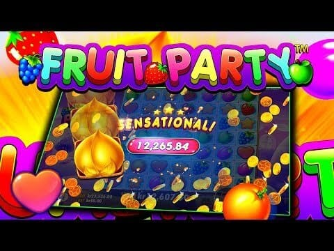 Fruit Party Slot Bonus