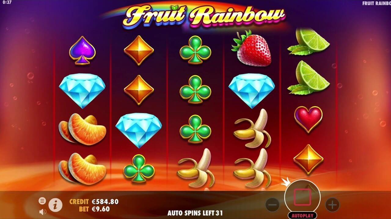 Fruit Rainbow Slot Gameplay