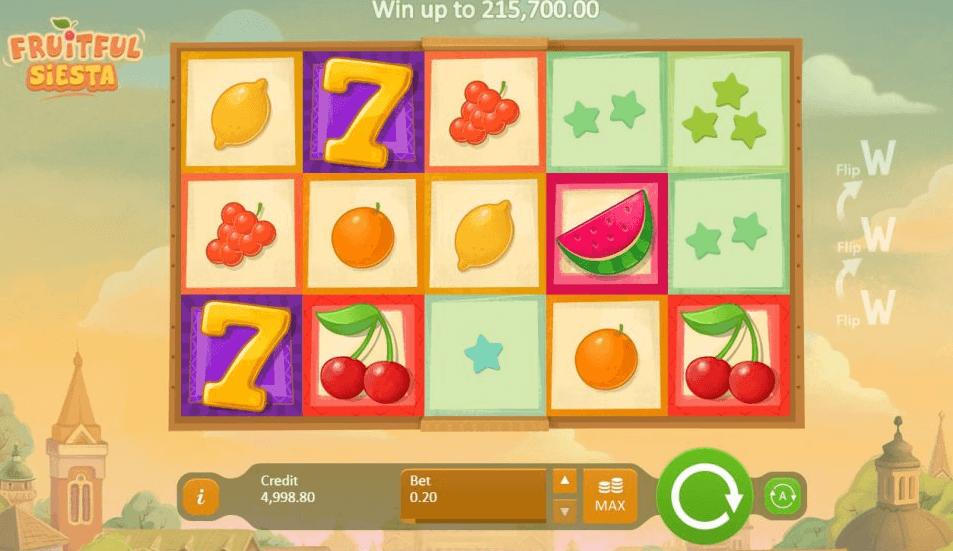 Fruitful Siesta Slot Gameplay