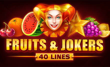 Fruits and Jokers 40 Lines Review
