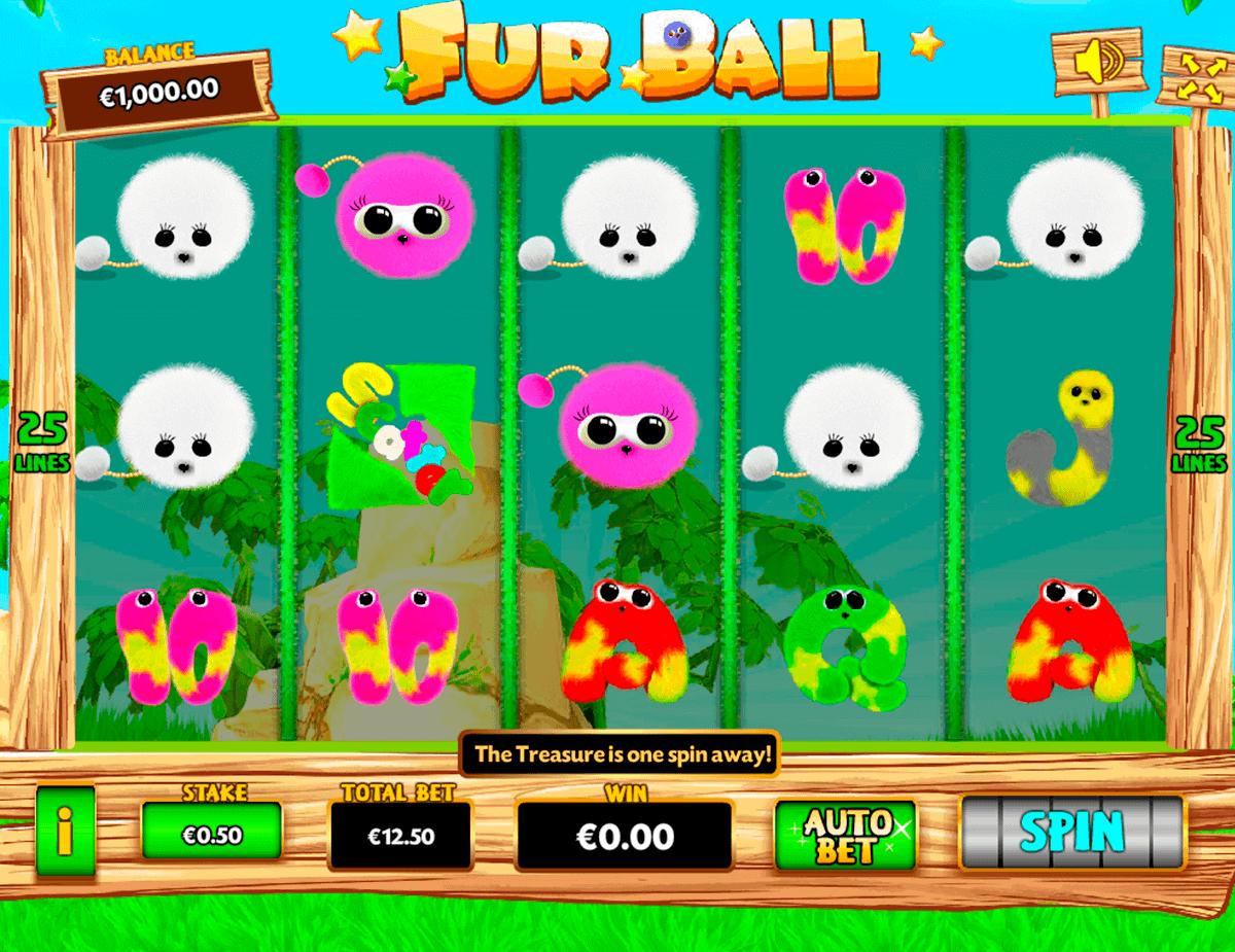 Fur Balls Slot Bonus