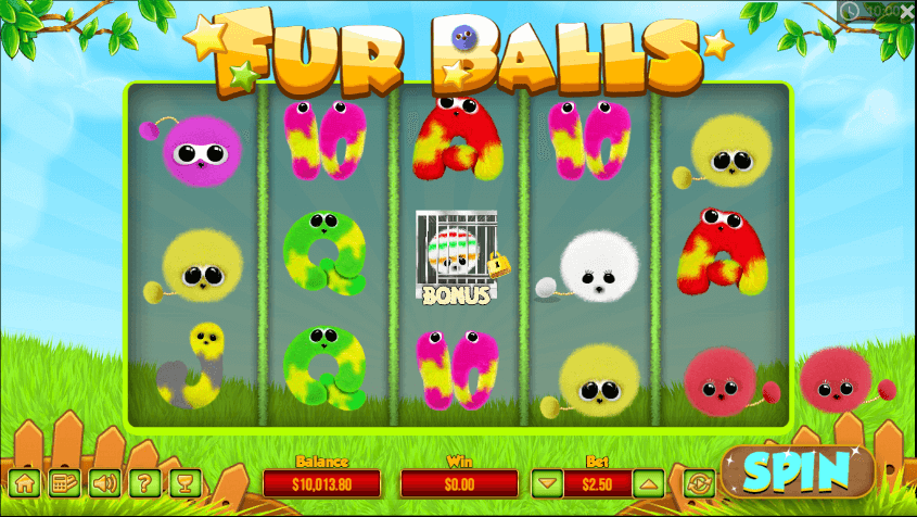 Fur Balls Slot Gameplay