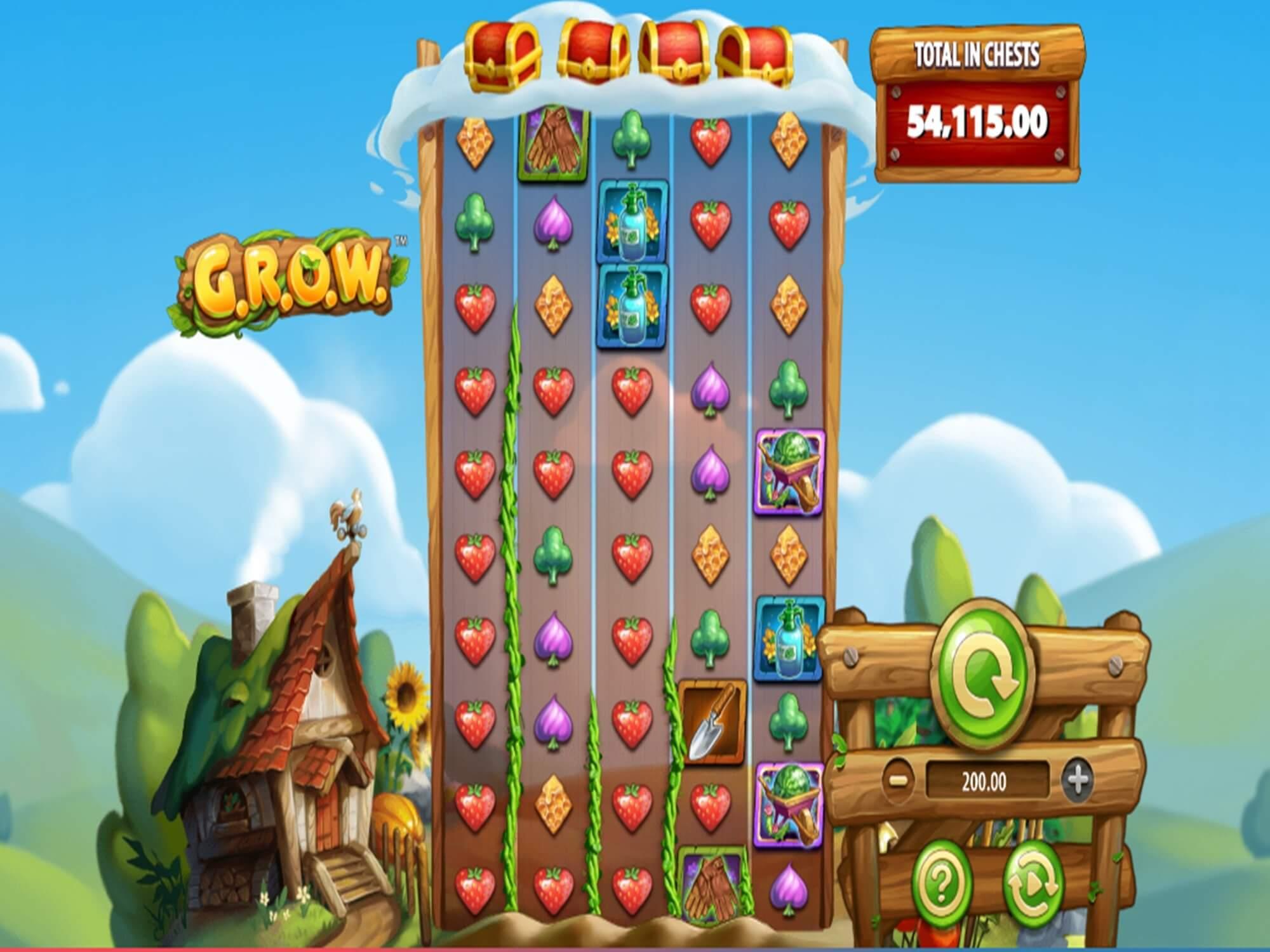 GROW Slot Bonus