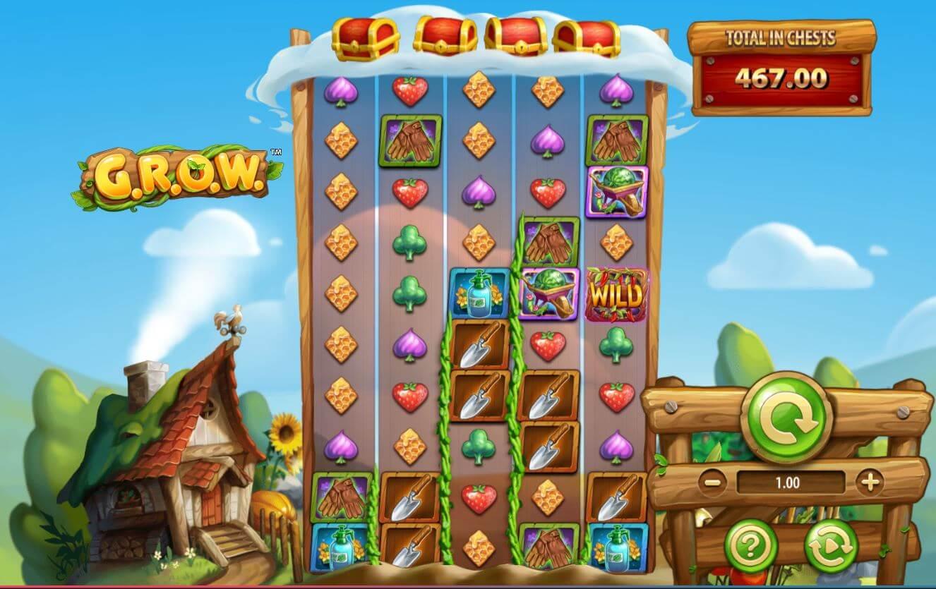 GROW Slot Gameplay