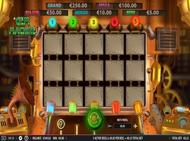 Gem Machine Slot Gameplay