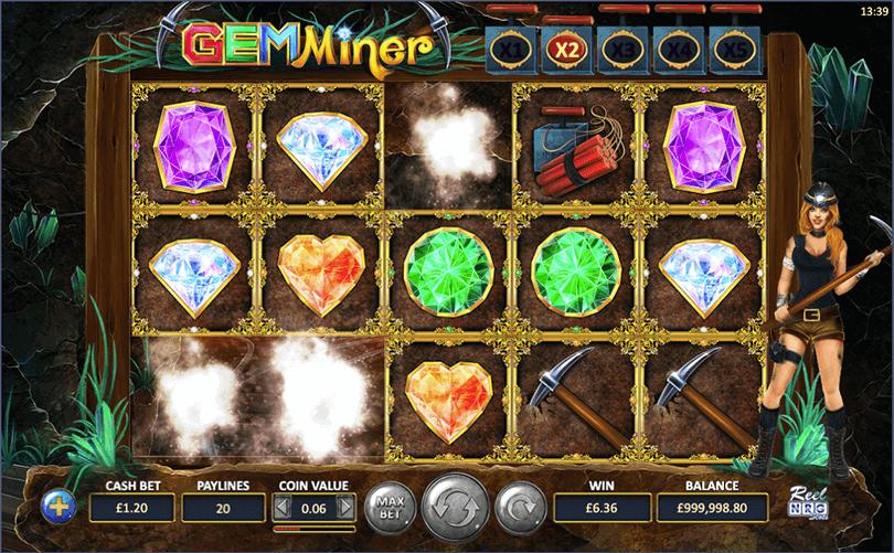 Gem Miner Slot Bonus