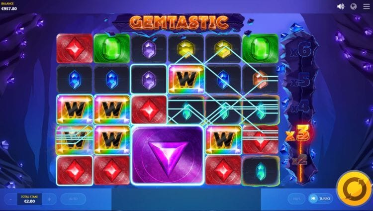 Gemtastic Slot Gameplay