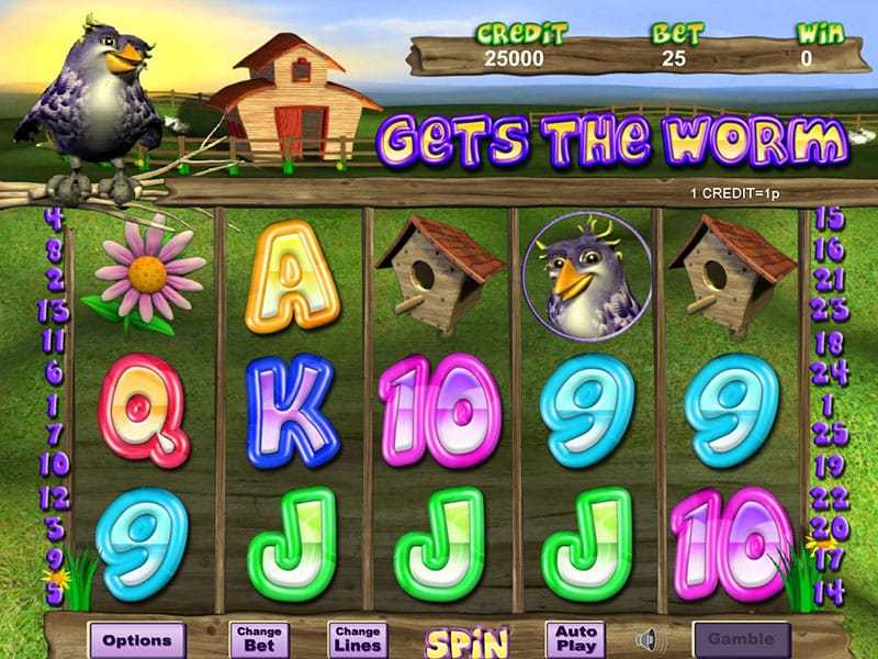 Gets The Worm Slot Gameplay