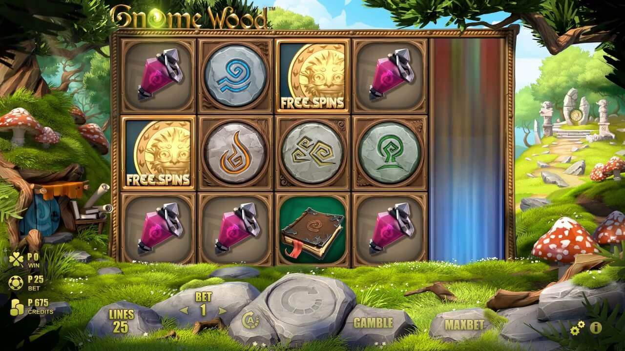 Gnome Wood Slot Gameplay