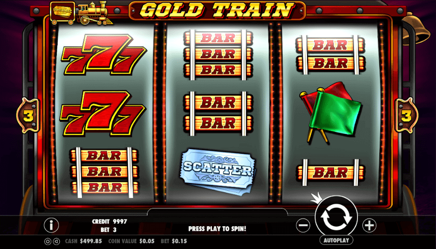 Gold Train Slot Gameplay